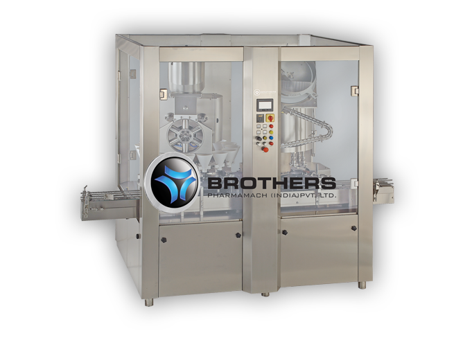 High Speed Rotary Dry Syrup Powder Capping Machine
