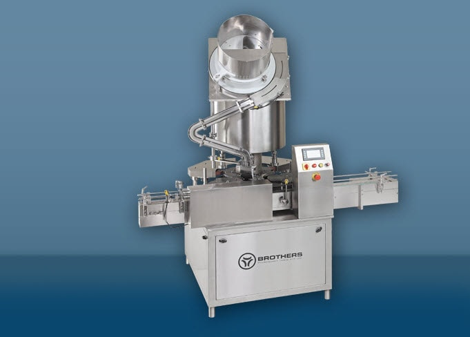 Rotary Bottle Screw Capping Machine