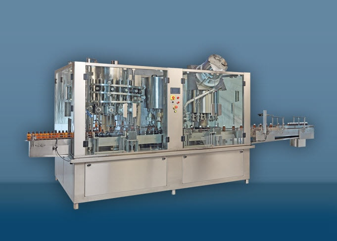 Plastic Screw Capping Machine