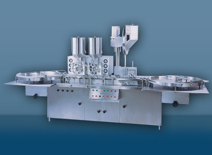Twin Injectable Powder Filling Machine