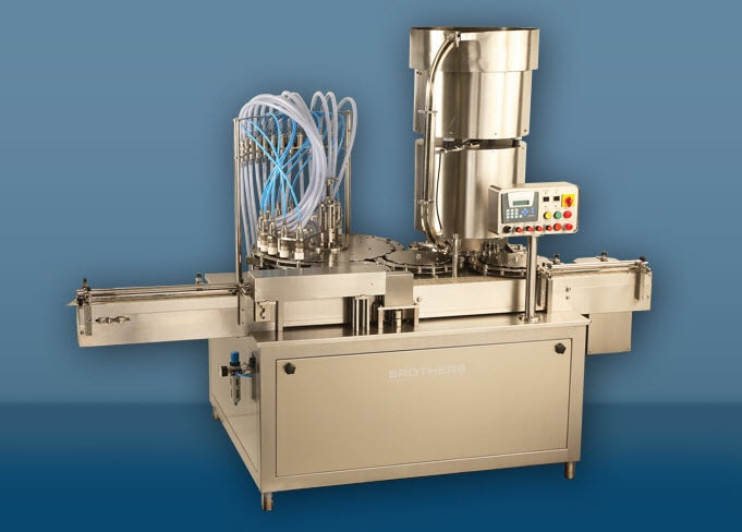 Rotary Vaccumetric Monoblock Liquid Bottle Filling Machine